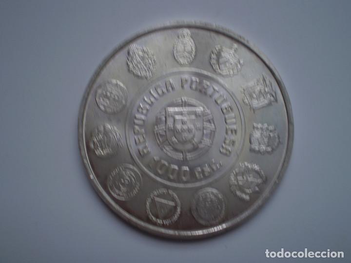 Monedas antiguas de Europa: 1000 ESCUDOS PLATA 2000 Portugal. El hombre y su caballo Lusitano - Foto 2 - 144010202