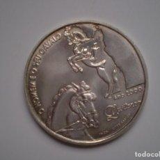 Monedas antiguas de Europa: 1000 ESCUDOS PLATA 2000 PORTUGAL. EL HOMBRE Y SU CABALLO LUSITANO. Lote 144010202