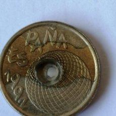 Monedas antiguas de Europa: 25 PESETAS 1992 TORE DEL ORO MULTIPLES ERRORES,LEER DESCRIPCION. Lote 214246690