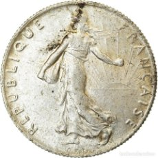 Monedas antiguas de Europa: MONEDA, FRANCIA, SEMEUSE, 50 CENTIMES, 1907, PARIS, MBC+, PLATA, KM:854. Lote 214369937