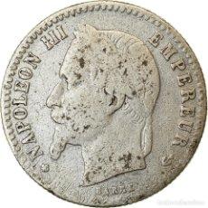 Monedas antiguas de Europa: MONEDA, FRANCIA, NAPOLEON III, NAPOLÉON III, 50 CENTIMES, 1867, STRASBOURG. Lote 214370298