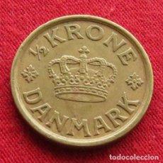 Monedas antiguas de Europa: DINAMARCA 1/2 KRONE 1925. Lote 214547736