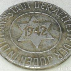 Monedas antiguas de Europa: RÉPLICA MONEDA 1942. 10 PFENNIG. JUDÍA, GETTO DE LODZ, LITZMANNSTADT, POLONIA. RARA. II GUERRA MUNDI. Lote 214556562