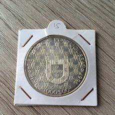 Monedas antiguas de Europa: 1000 ESCUDOS DE PLATA DE 1996. Lote 214637405