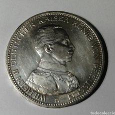 Monedas antiguas de Europa: PRÚSSIA 5 MARCOS PLATA 1914. Lote 215195253