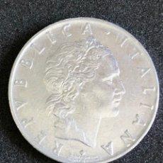 Monedas antiguas de Europa: 50 LIRAS DE LA REPÚBLICA ITALIANA , 1962. Lote 216479026
