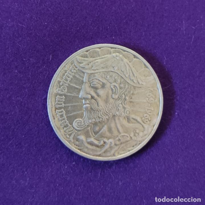 MONEDA DE PLATA DE PORTUGAL. 50 ESCUDOS. VASCO DE GAMA. 1469-1969. SIN CIRCULAR. SILVER. (Numismática - Extranjeras - Europa)