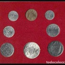 Monedas antiguas de Europa: VATICANO CARTERA SET OFICIAL MONEDAS PABLO VI AÑO 1975 (MCMLXXV-ANNO JUBILEO V)TIPO II. Lote 217278497