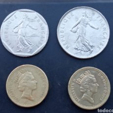 Monedas antiguas de Europa: LOTE 4 MONEDAS .. Lote 217373553