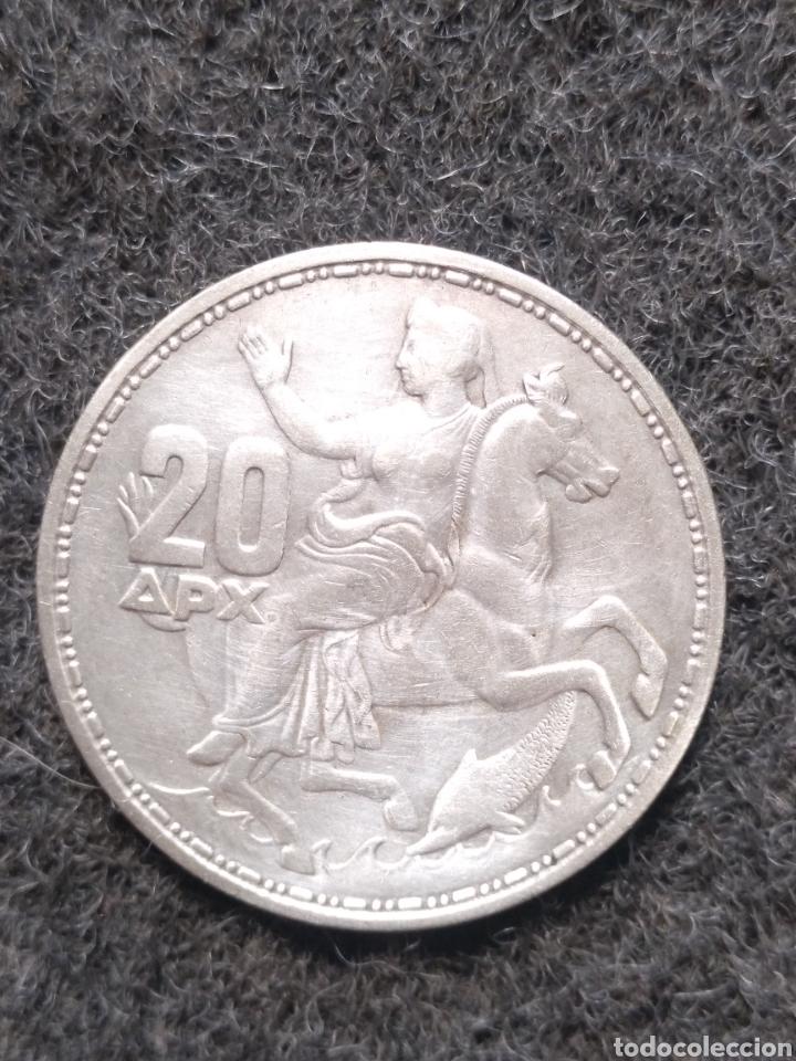 MONEDA DE 20 DRACMAS 1960 (Numismática - Extranjeras - Europa)