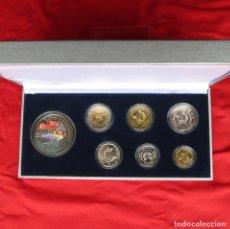 Monedas antiguas de Europa: SINGAPUR SINGAPORE SERIE 5 10 20 50 CENTS 1 5 $ 2007 + 2$ CAJA. Lote 217859500