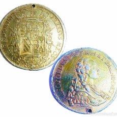 Monedas antiguas de Europa: MONEDA DE PLATA CON BAÑO DE ORO. P LEOPOLDUS...ETRUR DIRIGE DOMINE GRESSVS MEOS. 1772. RARA.. Lote 218079487