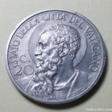 Monedas antiguas de Europa: 20 CENTÉSIMOS CIUDAD DEL VATICANO 1932. Lote 218215070