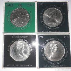 Monedas antiguas de Europa: MONEDAS ELIZABETH QUEEN.. Lote 218246117