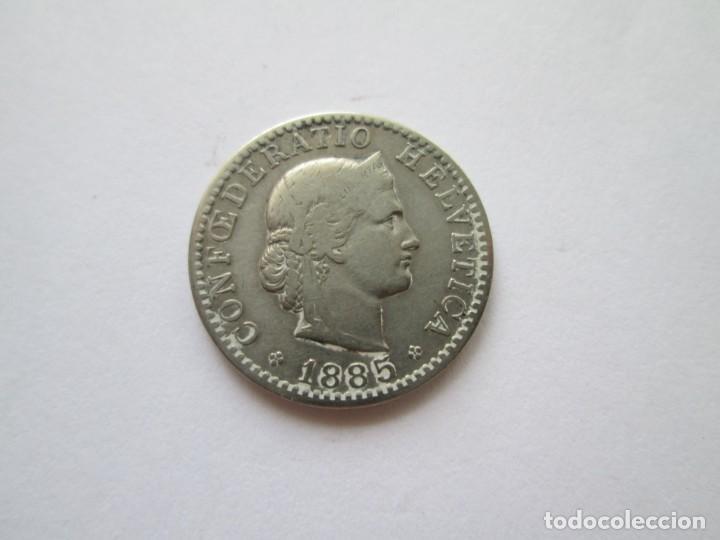 SUIZA * 20 RAPPEN 1885 * (Numismática - Extranjeras - Europa)
