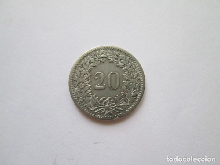 Monedas antiguas de Europa: SUIZA * 20 RAPPEN 1885 * - Foto 2 - 218283268