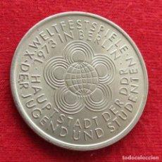 Monedas antiguas de Europa: ALEMANIA DDR 10 MARK 1973 FESTIVAL. Lote 218345702
