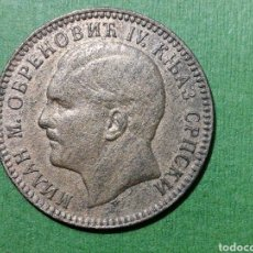 Monedas antiguas de Europa: 10 PARA SERBIA 1879 BRONCE. Lote 218426428