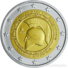 Monedas antiguas de Europa: GRECIA 2 EURO 2020 S/C 2500 AÑOS DE LA BATALLA DE TERMÓPILAS. Lote 227553755