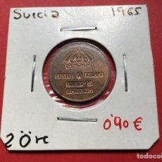 Monedas antiguas de Europa: 2630 )SUECIA,,2 ORE 1965 EN ESTADO MUY BUENO. Lote 218766953