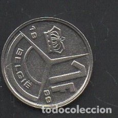 Monedas antiguas de Europa: BÉLGICA, 1 FRANCO 1989, BC. Lote 219037608