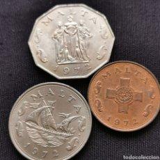 Monedas antiguas de Europa: A46. SELECCIÓN MALTA. 33G. Lote 219077991