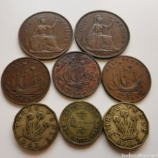 Monedas antiguas de Europa: A42. GRAN BRETAÑA Y COLONIAS. SELECCIÓN GEORGE VI. 53G. Lote 219078295
