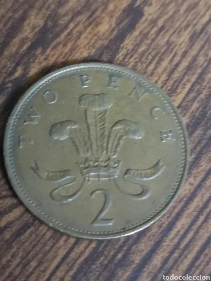 Monedas antiguas de Europa: MO84. MONEDA DE 2 PENCE. ELIZABETH II. 1989 - Foto 2 - 219095856