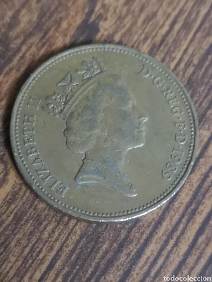 MO84. MONEDA DE 2 PENCE. ELIZABETH II. 1989 (Numismática - Extranjeras - Europa)