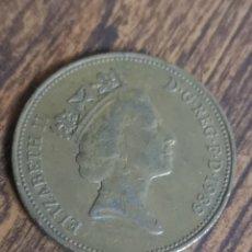 Monedas antiguas de Europa: MO84. MONEDA DE 2 PENCE. ELIZABETH II. 1989. Lote 219095856