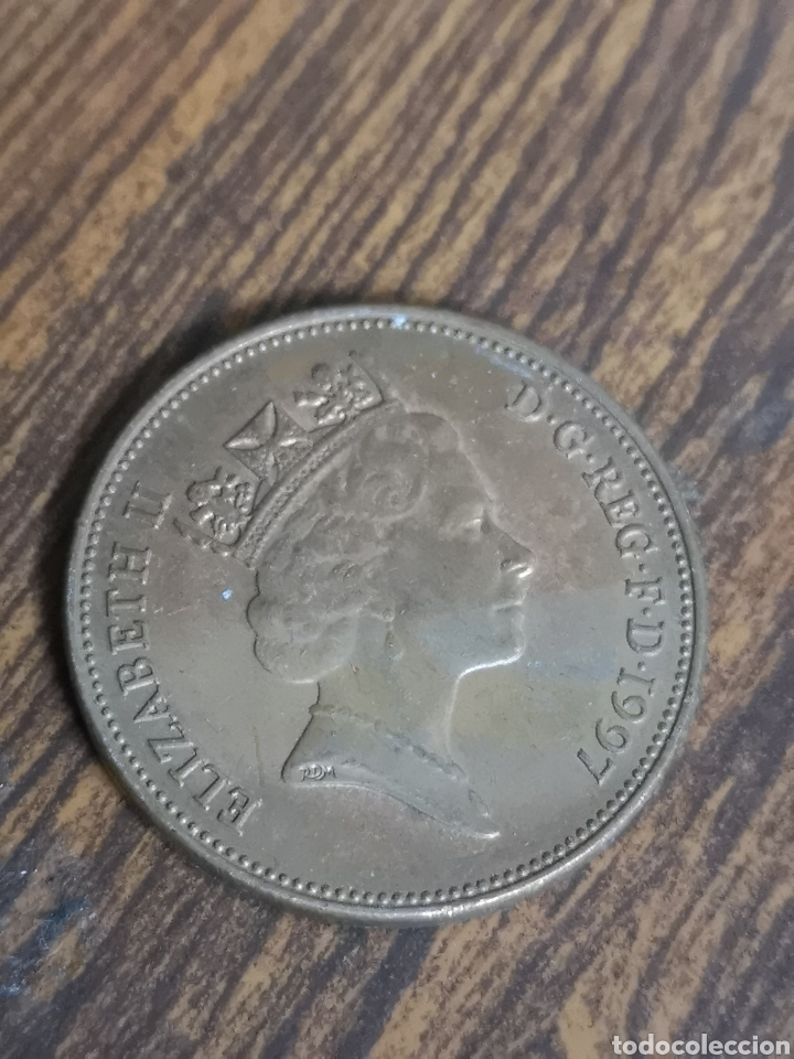 MO87. MONEDA DE ELIZABETH II. 2 PENCE. 1997 (Numismática - Extranjeras - Europa)