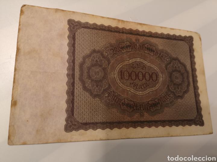 Monedas antiguas de Europa: B282. BILLETE DE ALEMANIA. 100000 MARK. 1923 - Foto 2 - 233502650