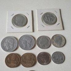 Monedas antiguas de Europa: LOTE DE 11 MONEDAS DE FRANCIA,MIRAR AÑOS Y FOTOS. Lote 219433286