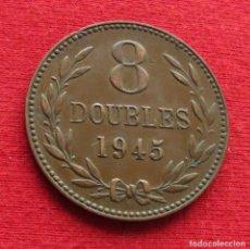Monete antiche di Europa: GUERNSEY 8 DOUBLES 1945. Lote 219526660