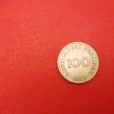 Monete antiche di Europa: 100 FRANKEN DE SAARLAND SARRE 1955. Lote 220298903