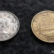Monnaies anciennes de France: LOTE DE 2 MONEDAS DE MALTA (105). Lote 220379370