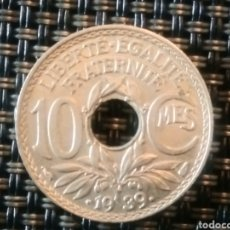 Monedas antiguas de Europa: 20 CENTIMOS 1939 SC FRANCIA. Lote 220470811