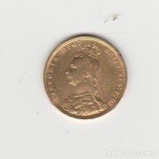 Monedas antiguas de Europa: INGLATERRA- 1 LIBRA-1900- REINA VICTORIA- ORO. Lote 220574063