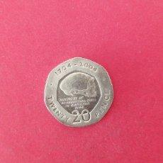 Moedas antigas da Europa: 20 PENIQUES DE GIBRALTAR 2004. CONMEMORATIVA. Lote 220734397