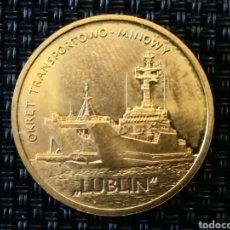 Monedas antiguas de Europa: 2 ZT. BARCO LUBRIN 2013 POLONIA. Lote 220847031