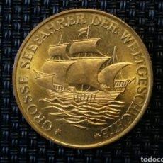 Monedas antiguas de Europa: BUQUE DE VASCO DE GAMA 1469/1524 ESCASA. Lote 220847221