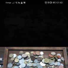 Monedas antiguas de Europa: 1.2 KILO DE MONEDAS MUNDIALES. Lote 221321032