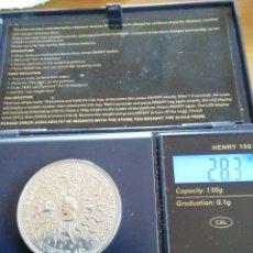 Monedas antiguas de Europa: 25 PENIQUES INGLATERRA DE PLATA KM921A 1980. Lote 221428480