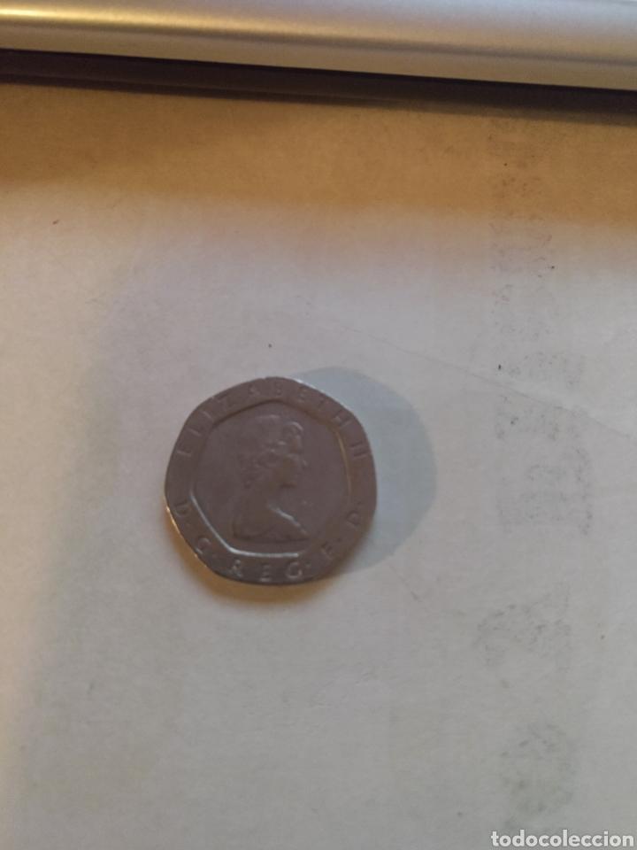 Monedas antiguas de Europa: Twenty pence UK 1984 - Foto 2 - 221516423