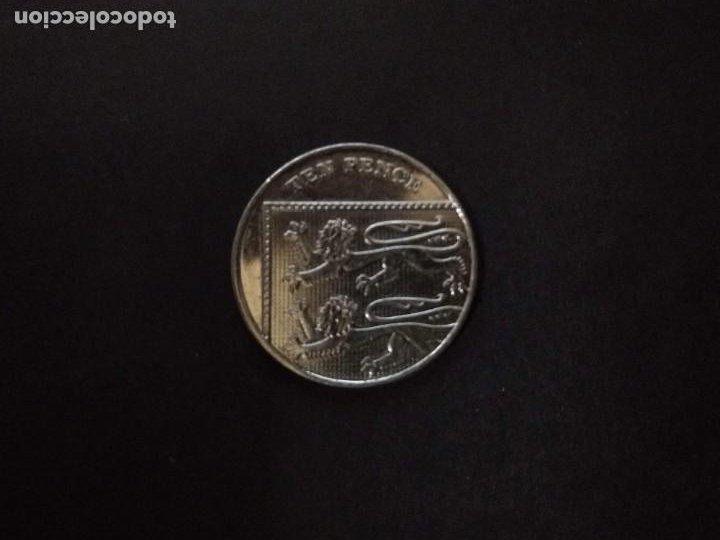 MONEDA-GRAN BRETAÑA-TEN PENCE-2014 (Numismática - Extranjeras - Europa)