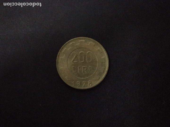 ITALIA 200 LIRAS 1978 (Numismática - Extranjeras - Europa)