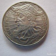 Monedas antiguas de Europa: PORTUGAL . 50 ESCUDOS DE PLATA MUY ANTIGUOS . AÑO 1969 . TOTALMENTE NUEVA. Lote 221526958
