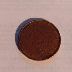 Monedas antiguas de Europa: 5 CÉNTIMOS ESLOVAQUIA 2009. Lote 221733643