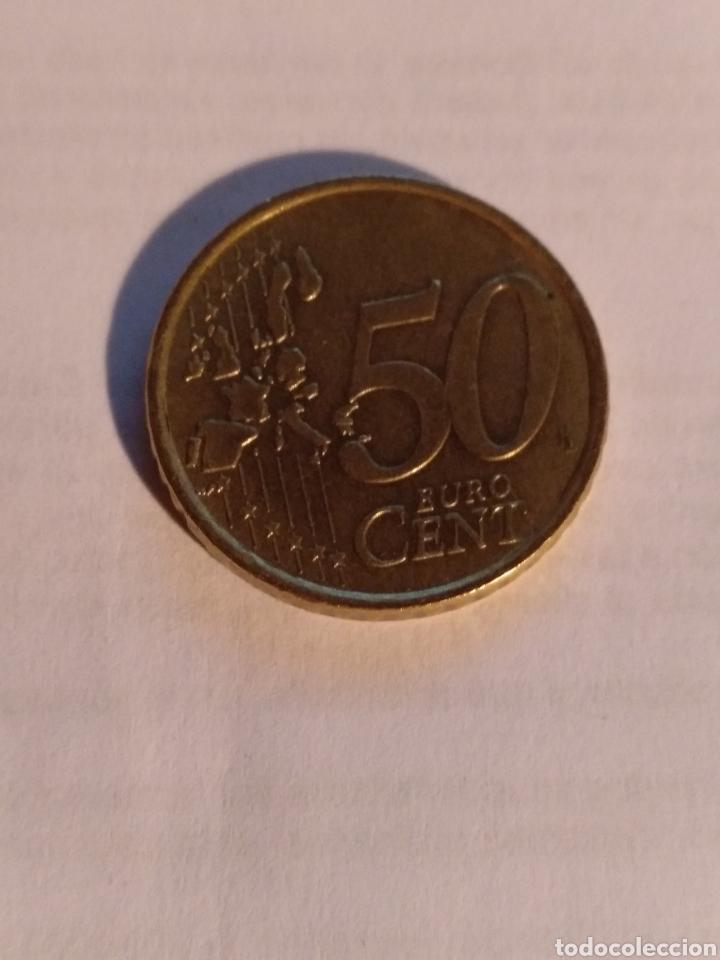Monedas antiguas de Europa: 50 céntimos de Italia 2002 - Foto 2 - 221733737