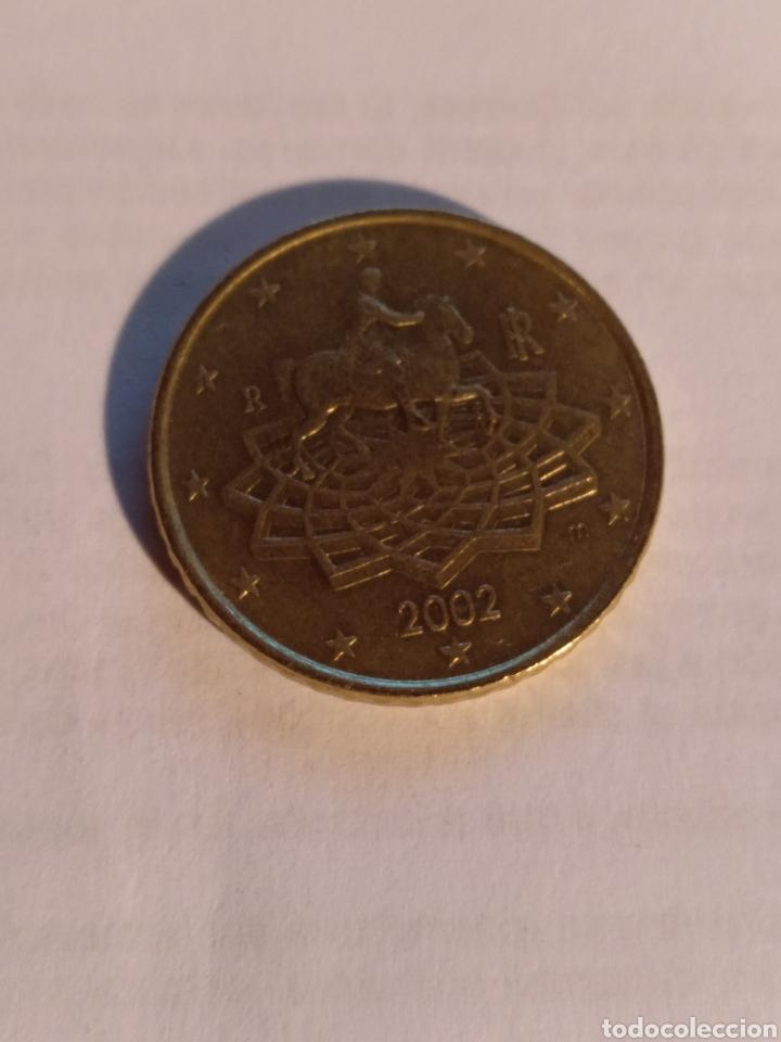50 CÉNTIMOS DE ITALIA 2002 (Numismática - Extranjeras - Europa)